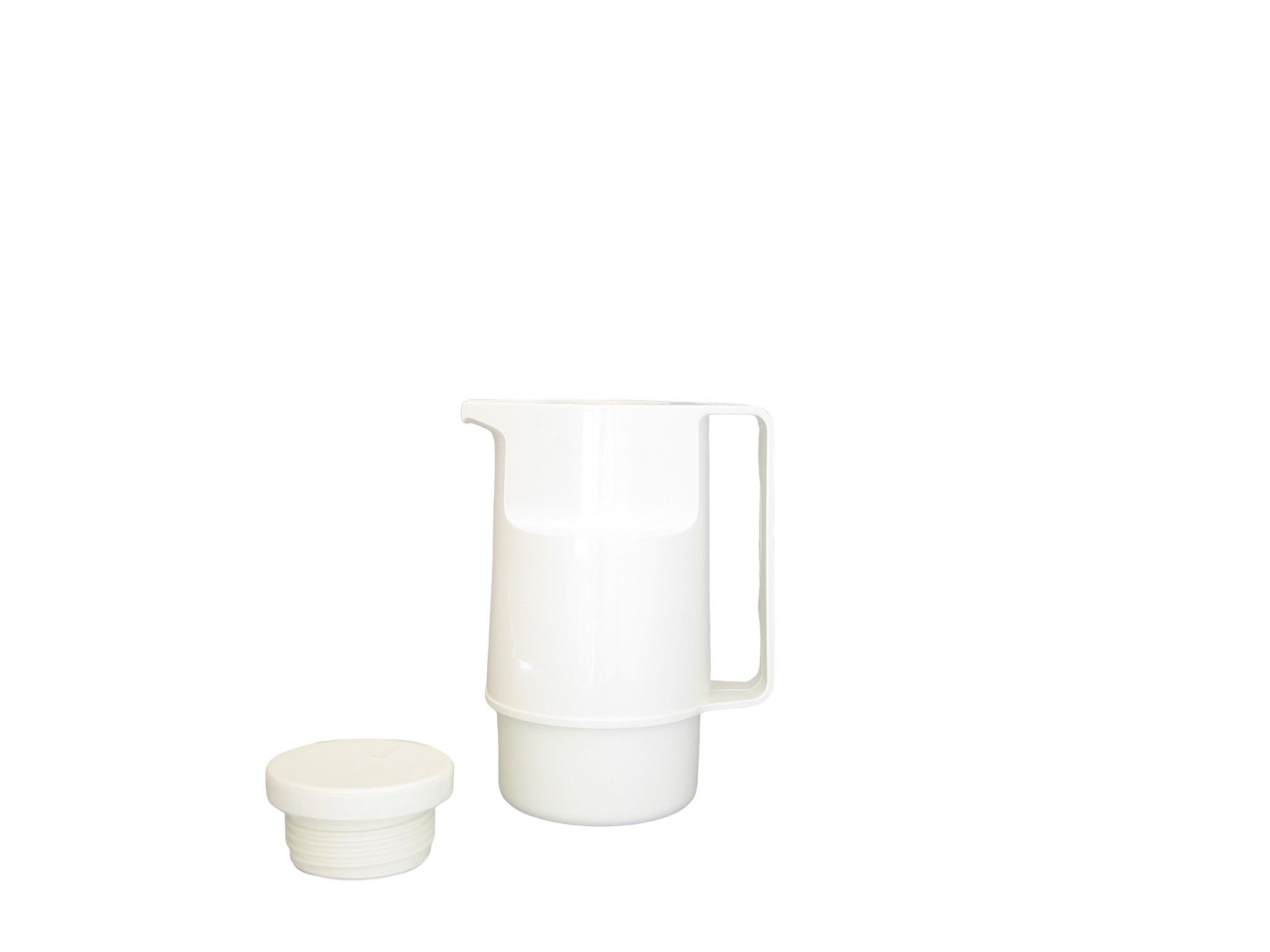 203-001 - Pichet isotherme ABS blanc 0.30 L - Isobel