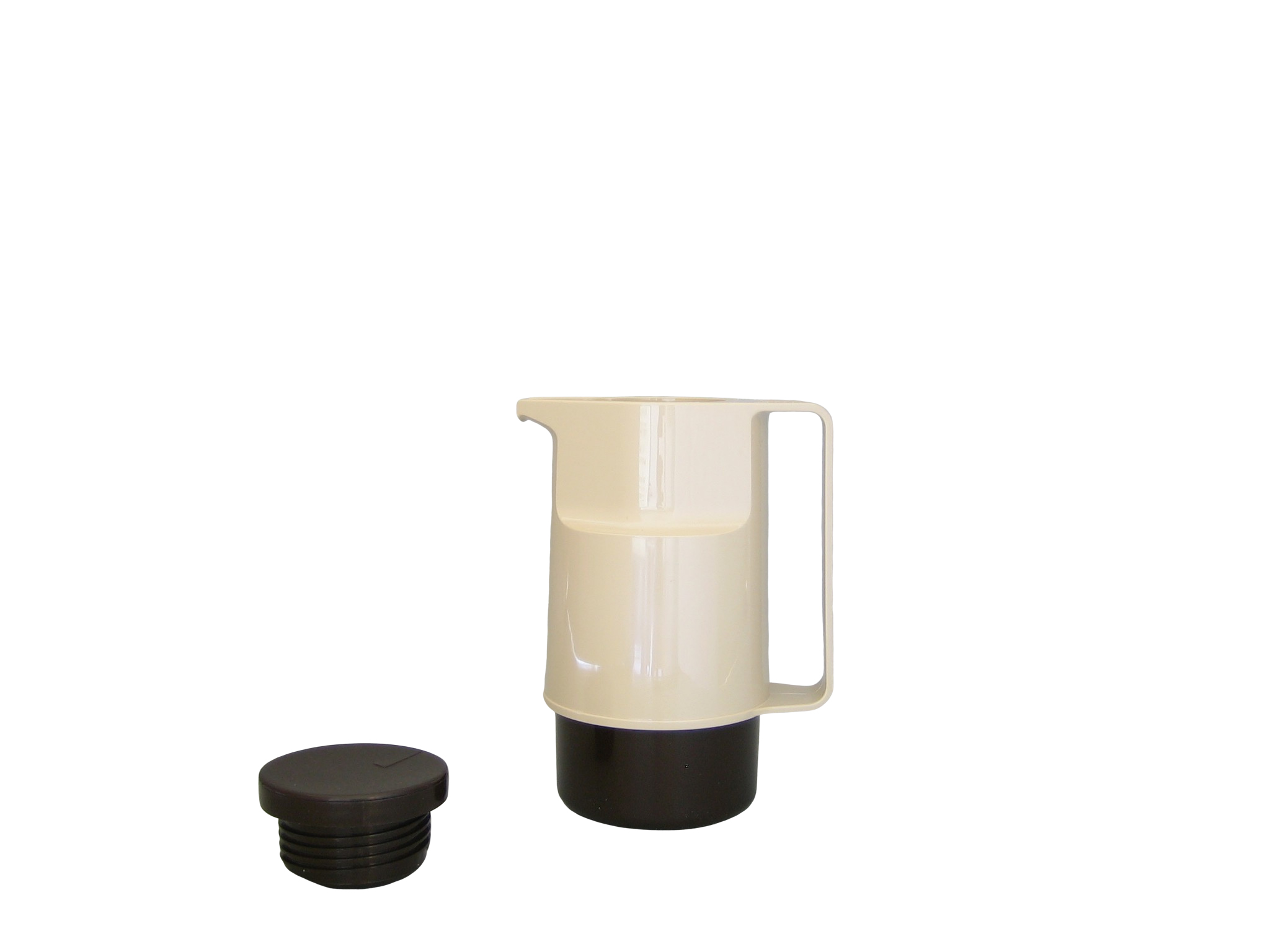 203-1030 - Pichet isotherme ABS beige/brun 0.30 L - Isobel