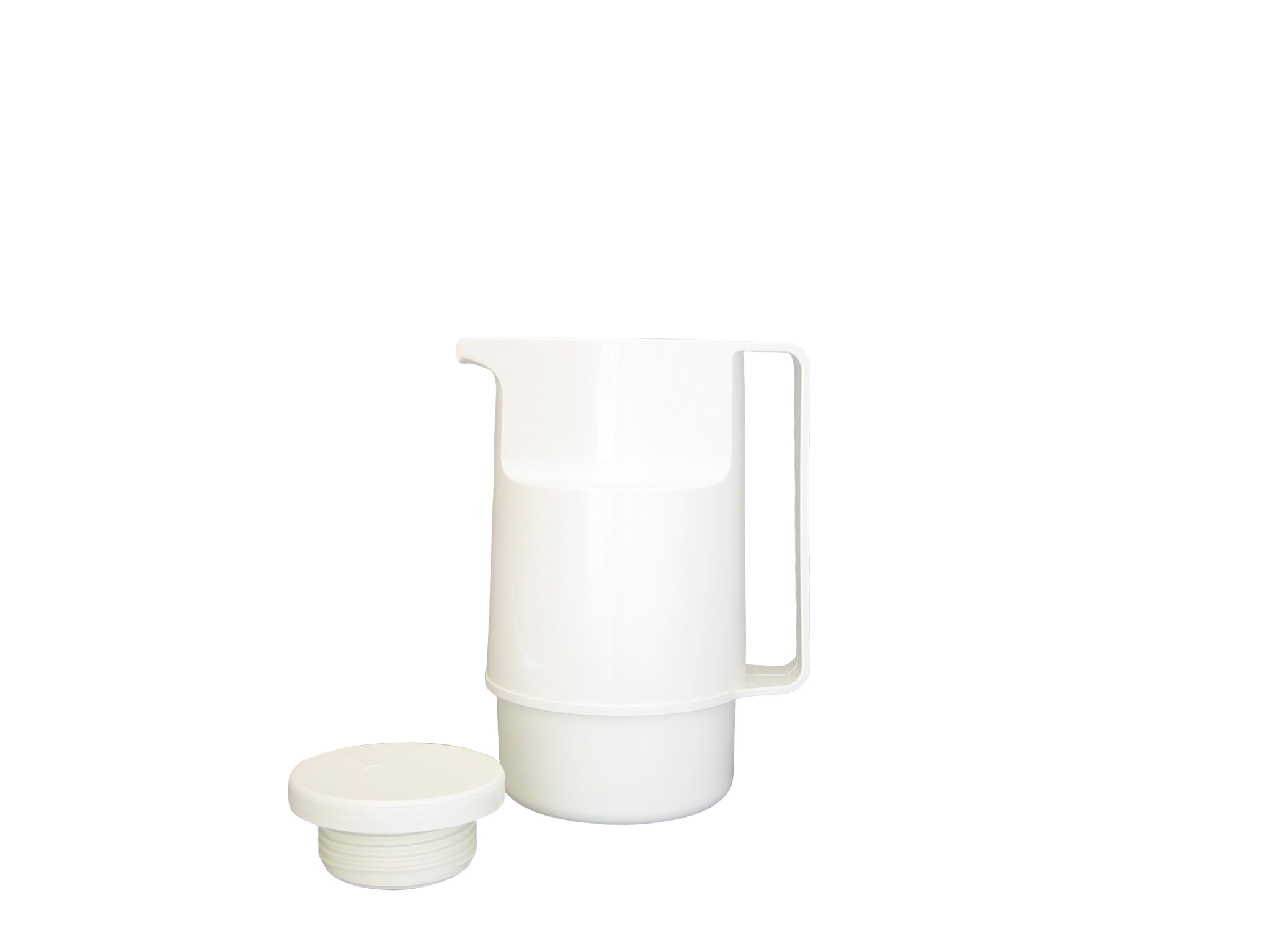 206-001 - Pichet isotherme ABS  blanc 0.60 L - Isobel
