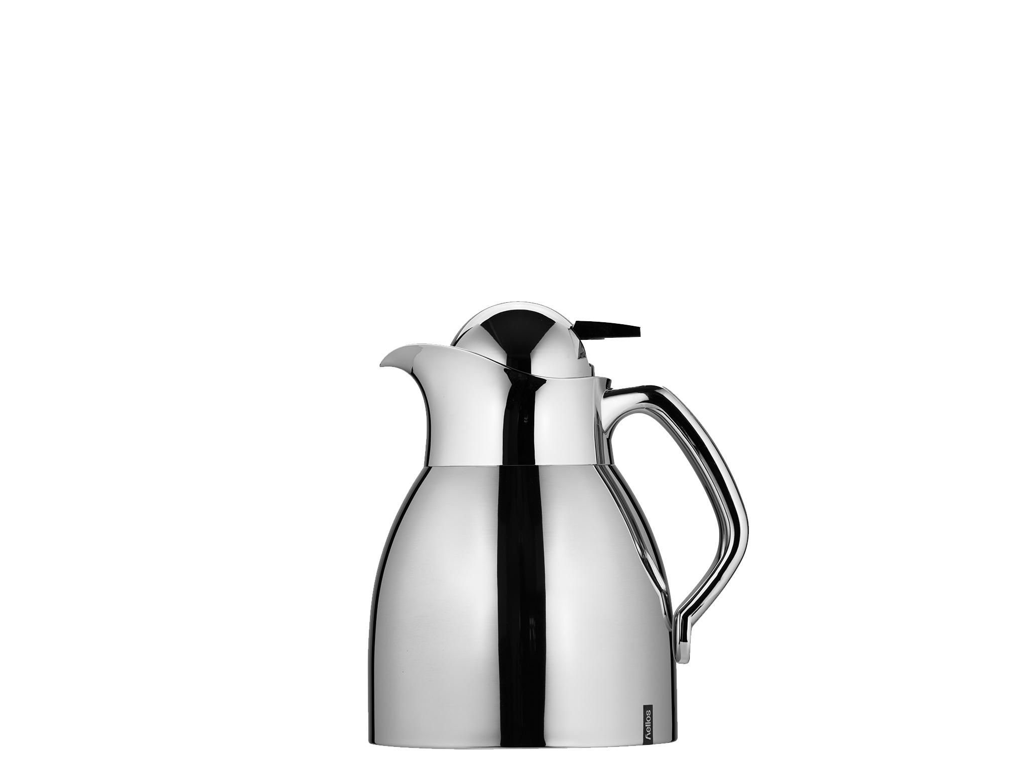 2062 - Vacuum jug SS 0.6 L RONDO PUSH - Helios