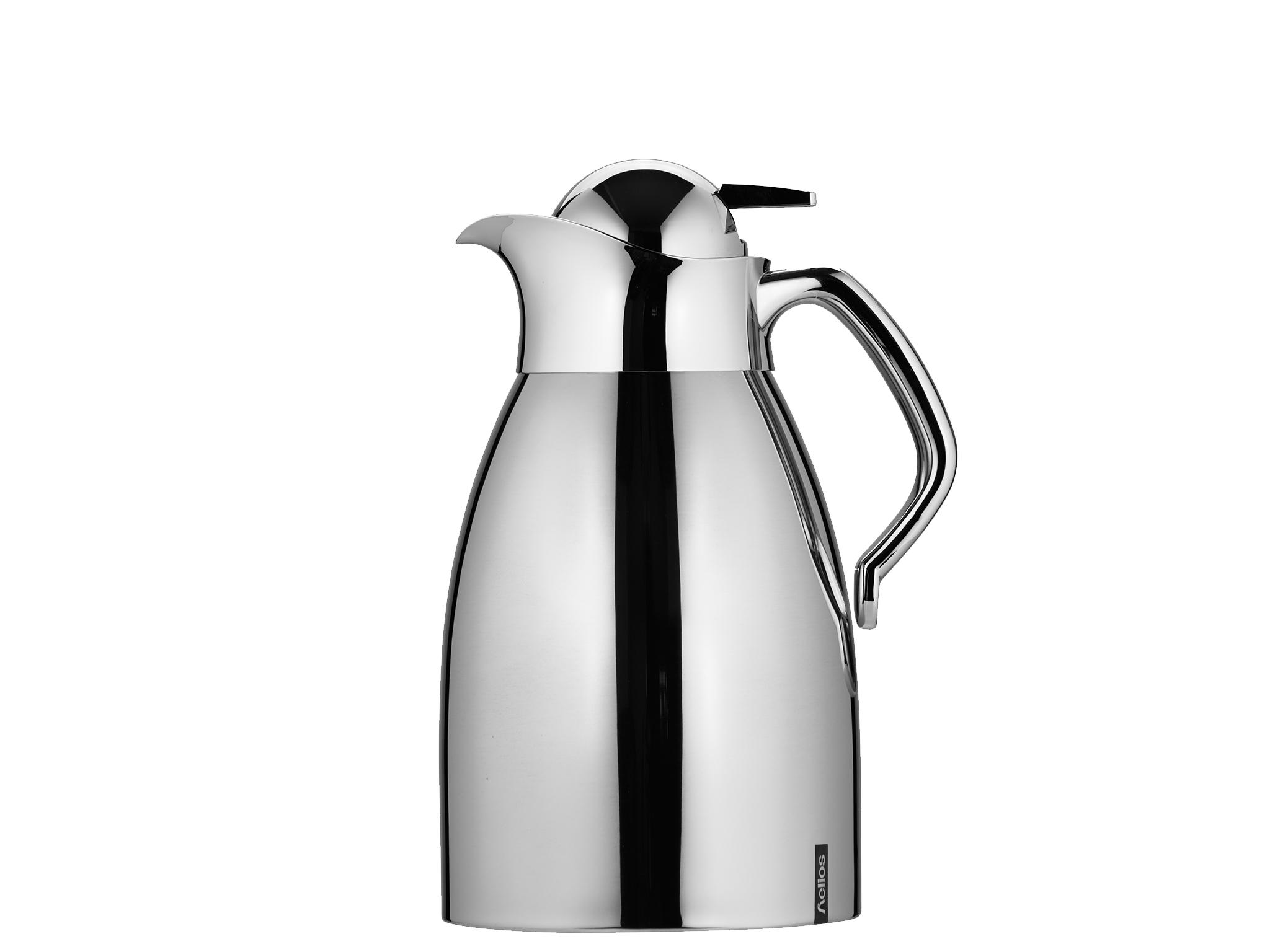 2065 - Vacuum jug SS 1.5 L RONDO PUSH - Helios
