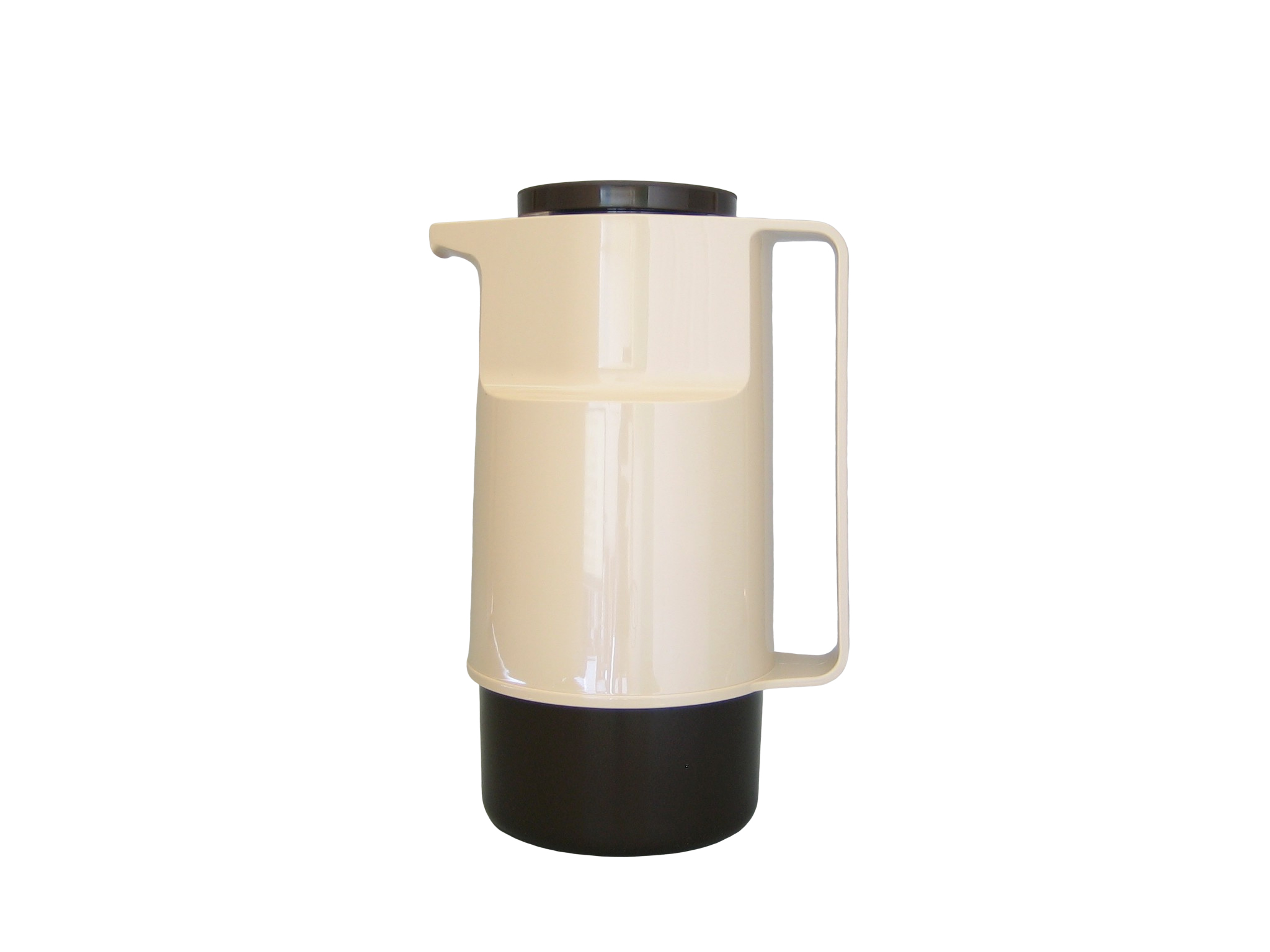 210-1030 - Vacuum carafe ABS beige/brown 1.0 L - Isobel