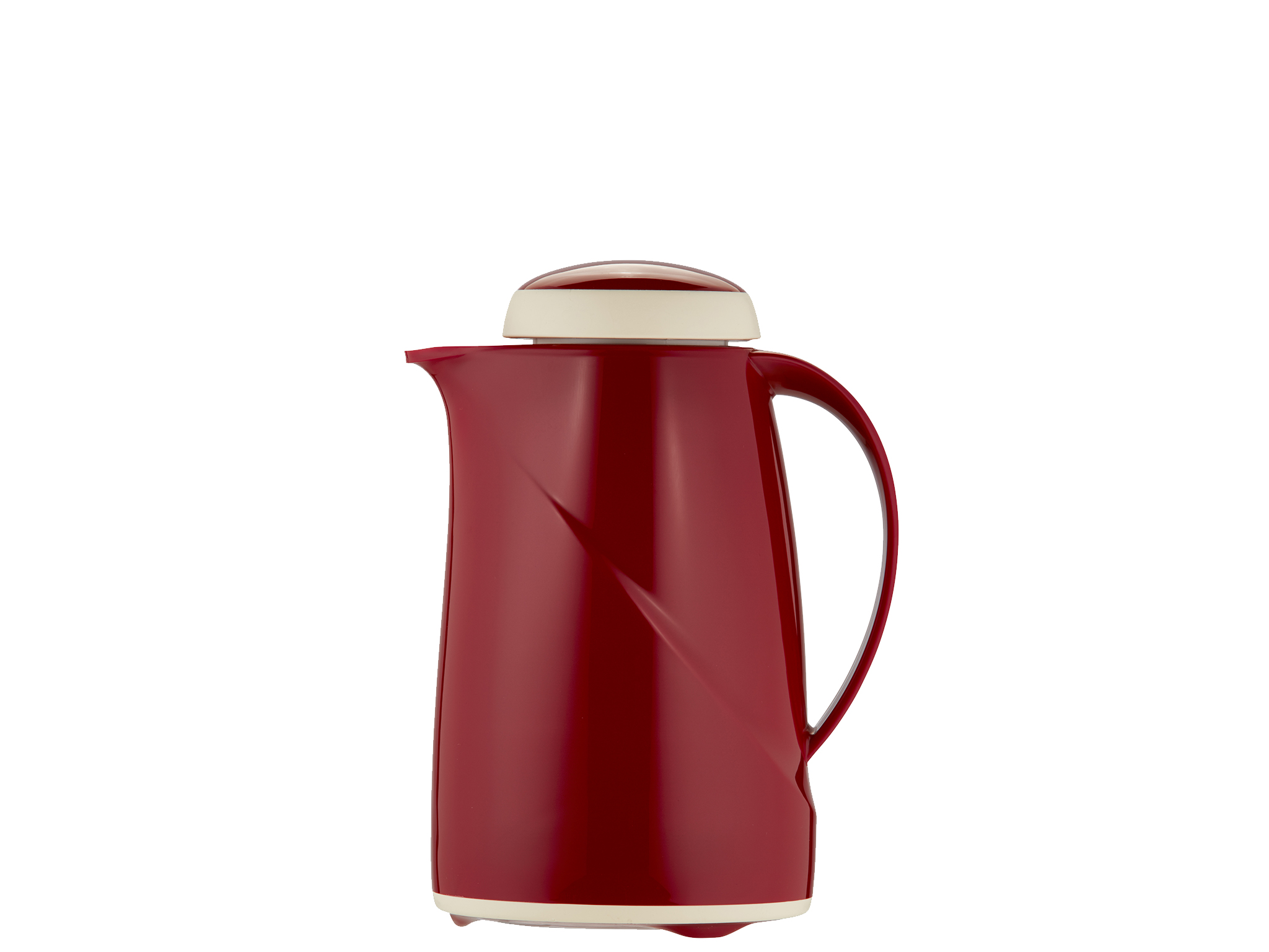 2942-046 - Vacuum carafe red 0.6 L WAVE MINI - Helios