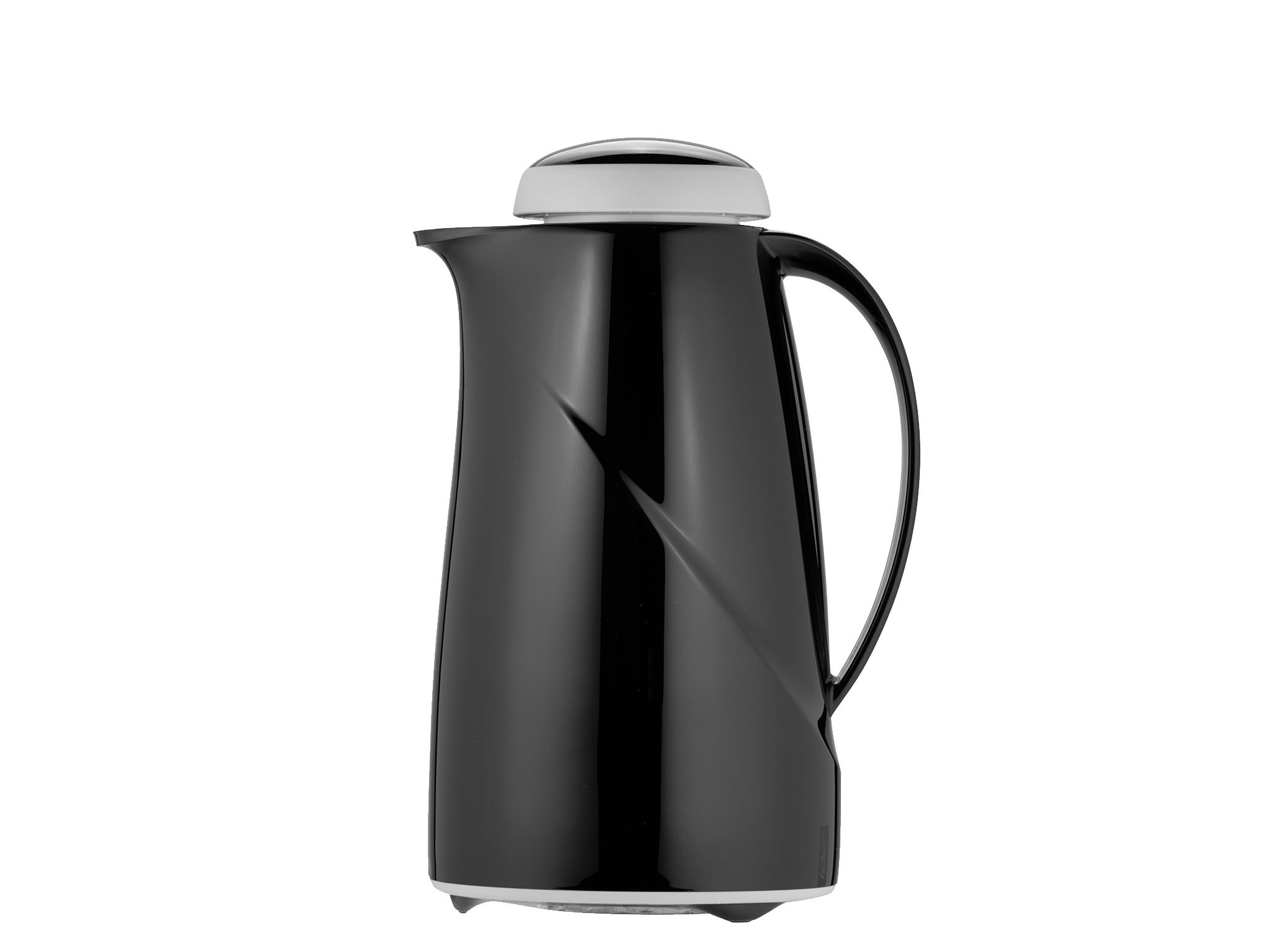2964-002 - Vacuum carafe unbreakable black 1.0 L WAVE S+ - Helios