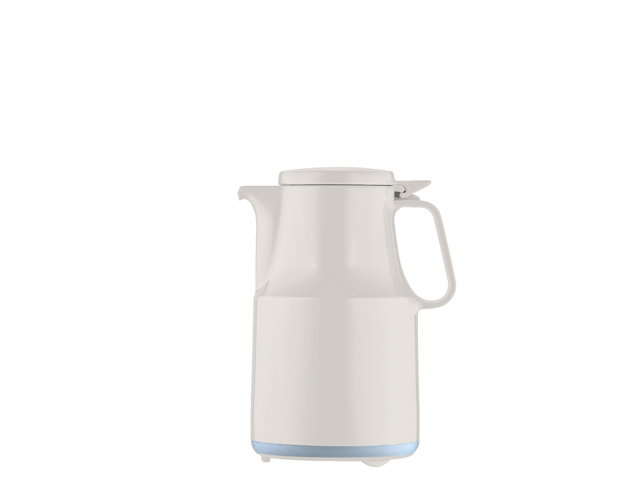 7362-001 - Vacuum carafe unbreakable white 0.6 L THERMOBOY S+ - Helios