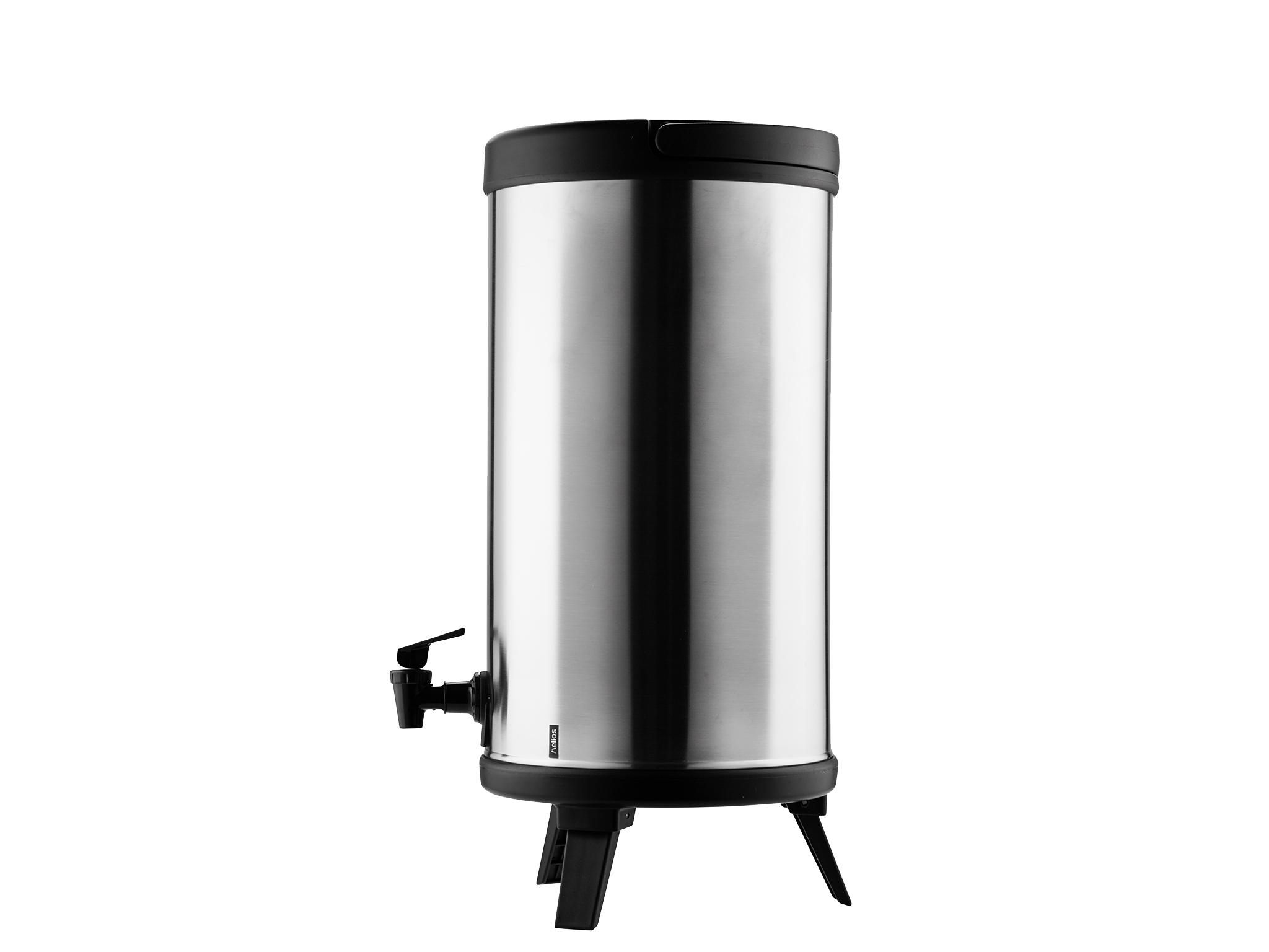 8300 - Vacuum tank SS with tap 10.0 L MAXX - Helios
