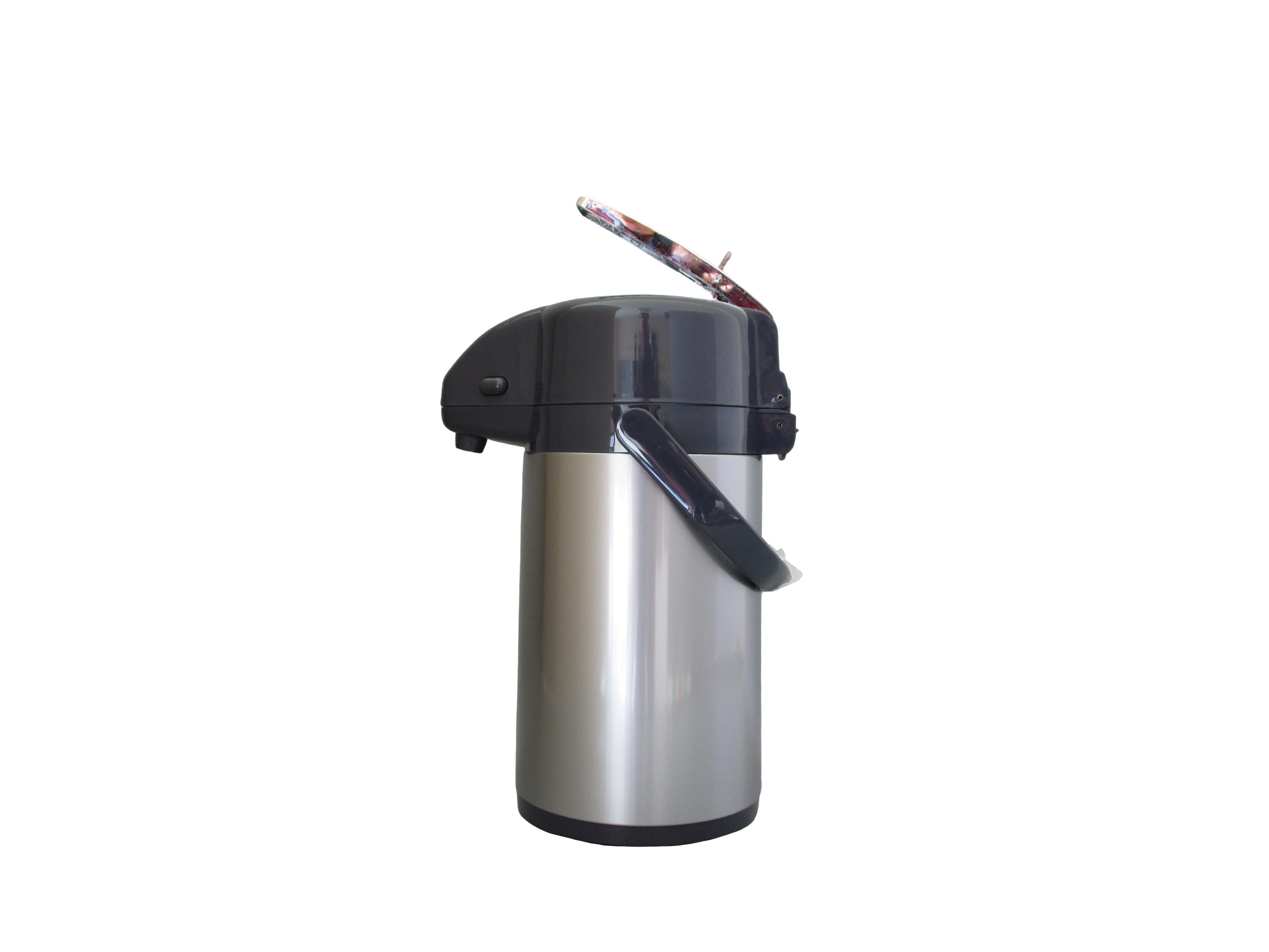 AYM13-040 - Pompkan metaal met pomphefboom taupe 1.3 L - Isobel