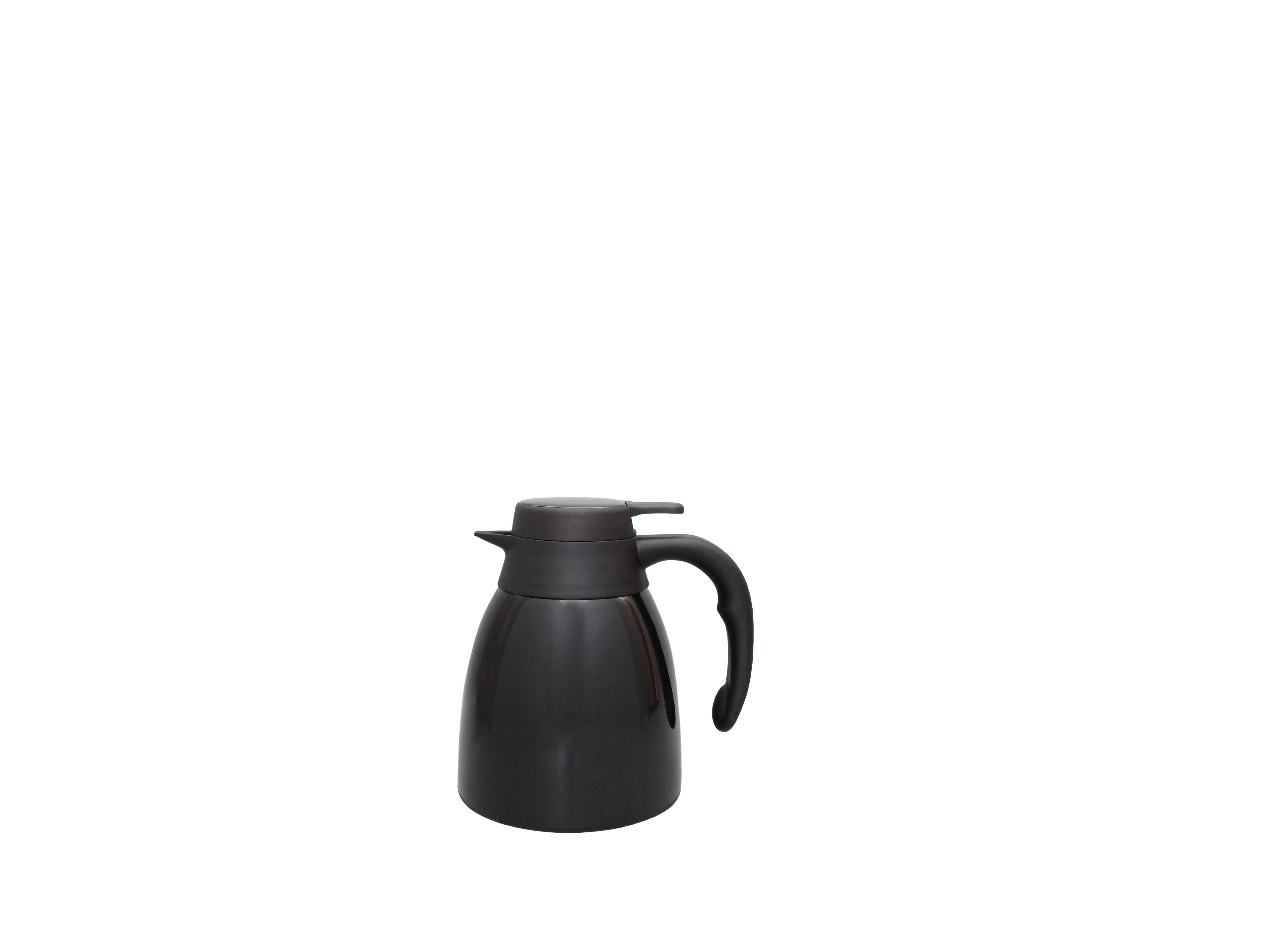 FUJI10-002 - Vacuum carafe SS black unbreakable 1.0 L - Isobel