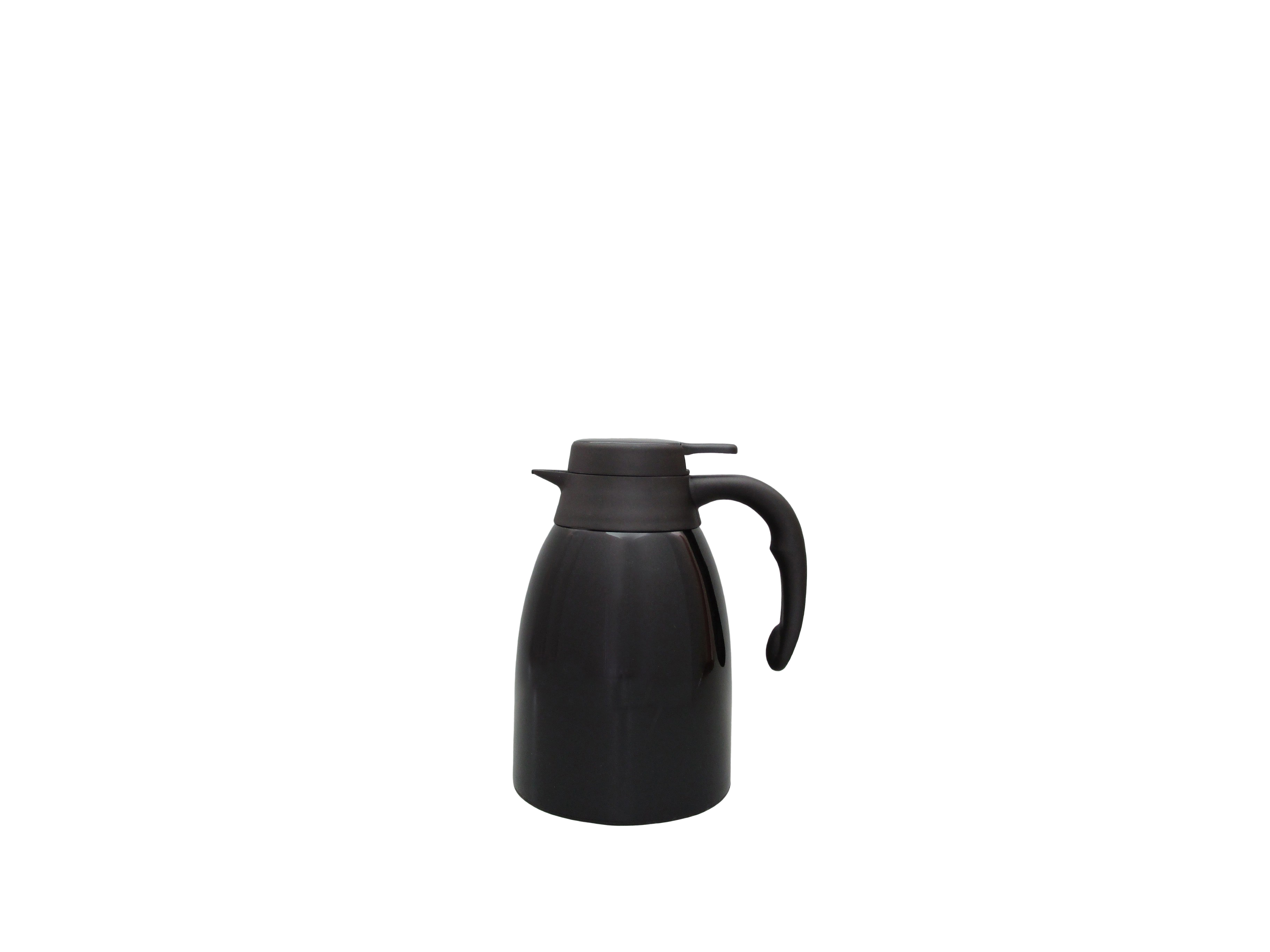 FUJI15-002 - Vacuum carafe SS black unbreakable 1.5 L - Isobel