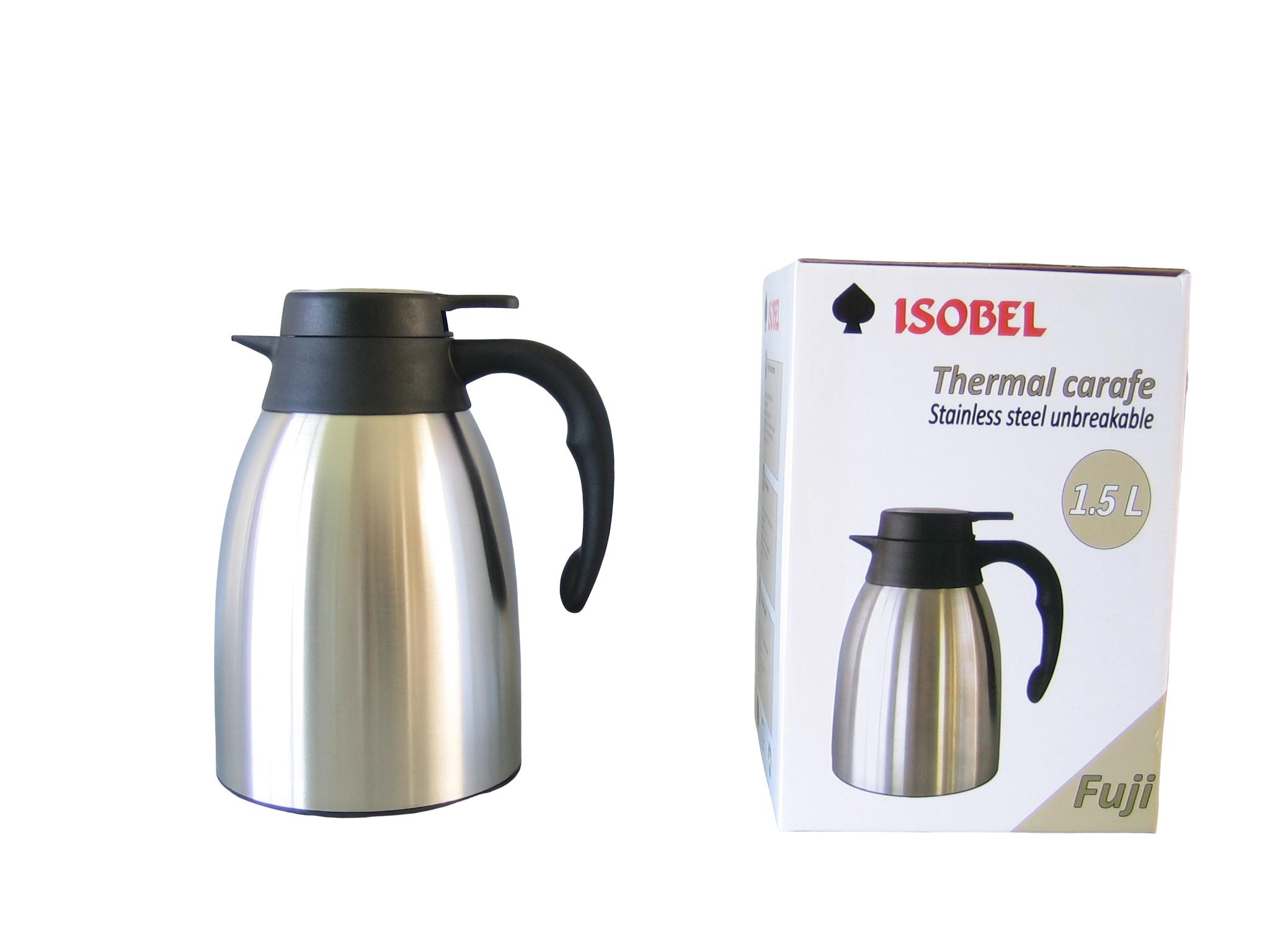 FUJI15-900 - Isoleerkan inox mat onbreekbaar 1.5 L - Isobel