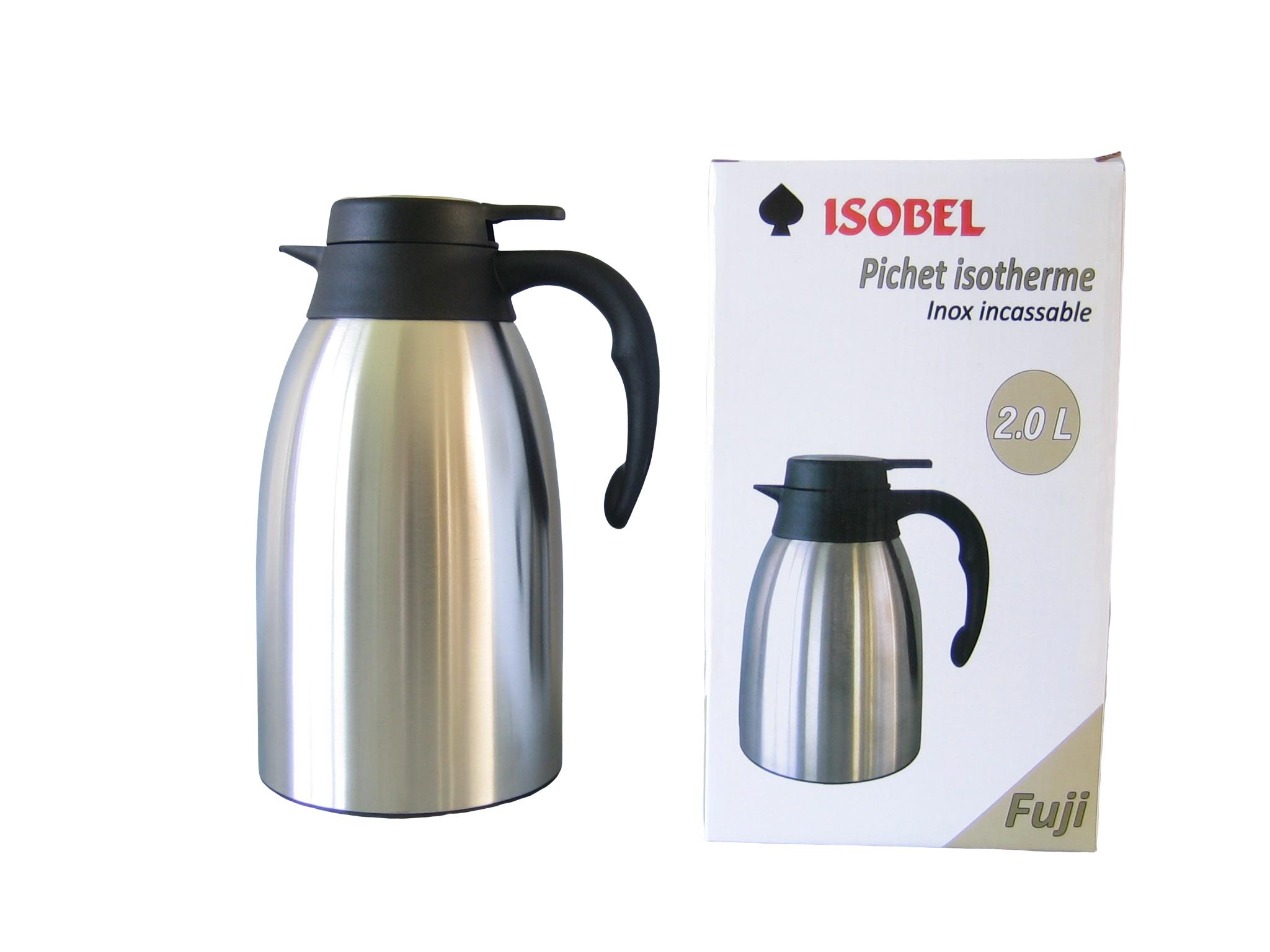 FUJI20-900 - Isoleerkan inox mat onbreekbaar 2.0 L - Isobel
