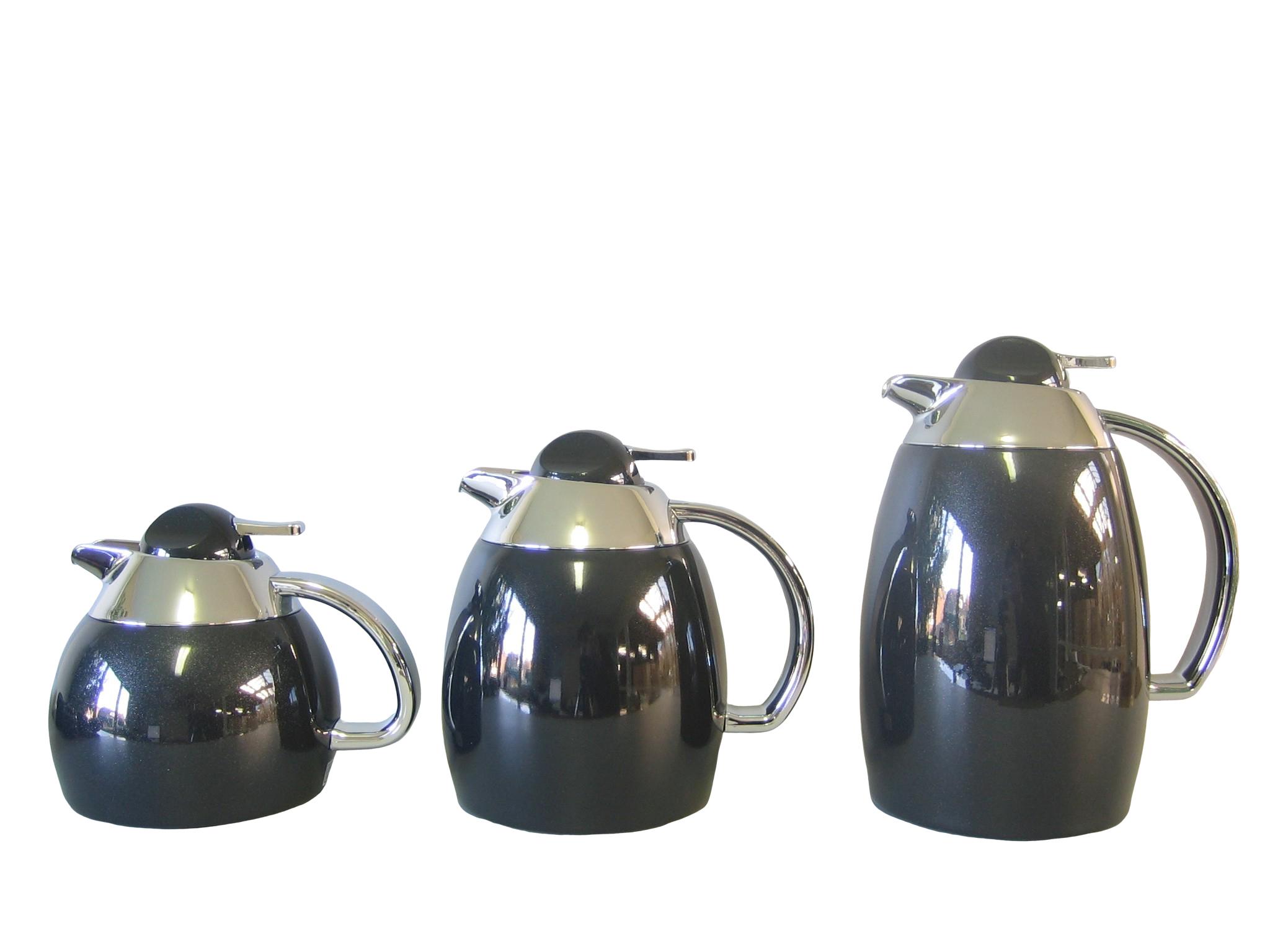OPERA06-049 - Isoleerkan onbreekbaar inox donker grijs 0.6 L - Isobel