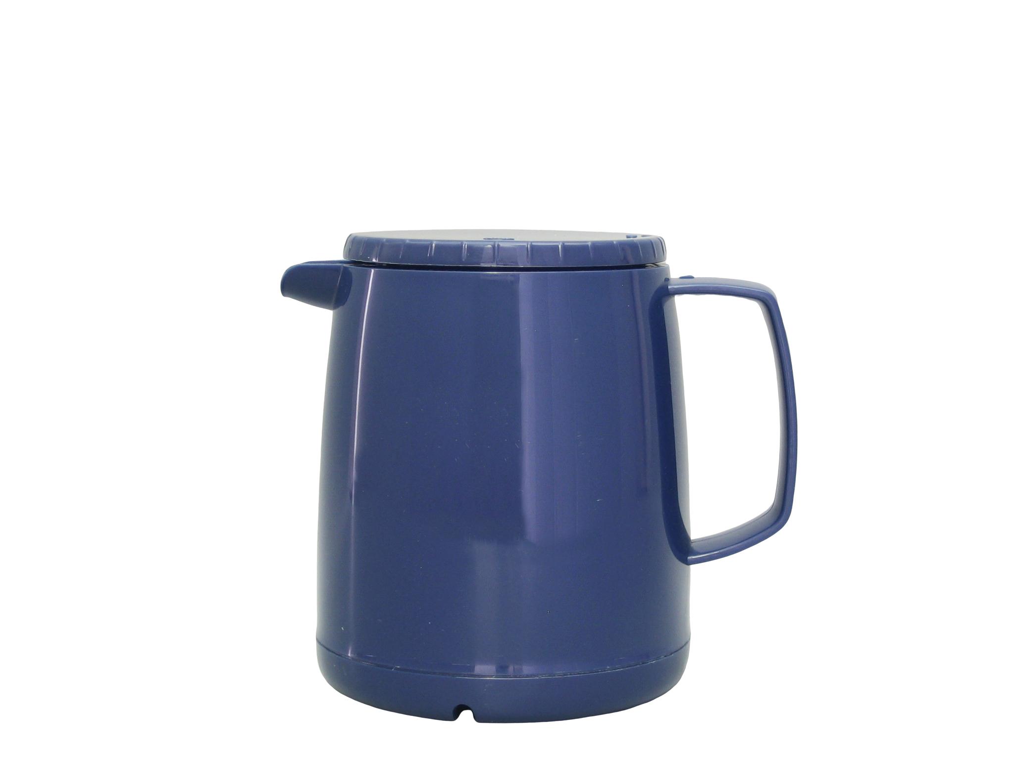 JAZZ050-008 - Isoleerkan stapelbaar blauw 0.50 L - Isobel