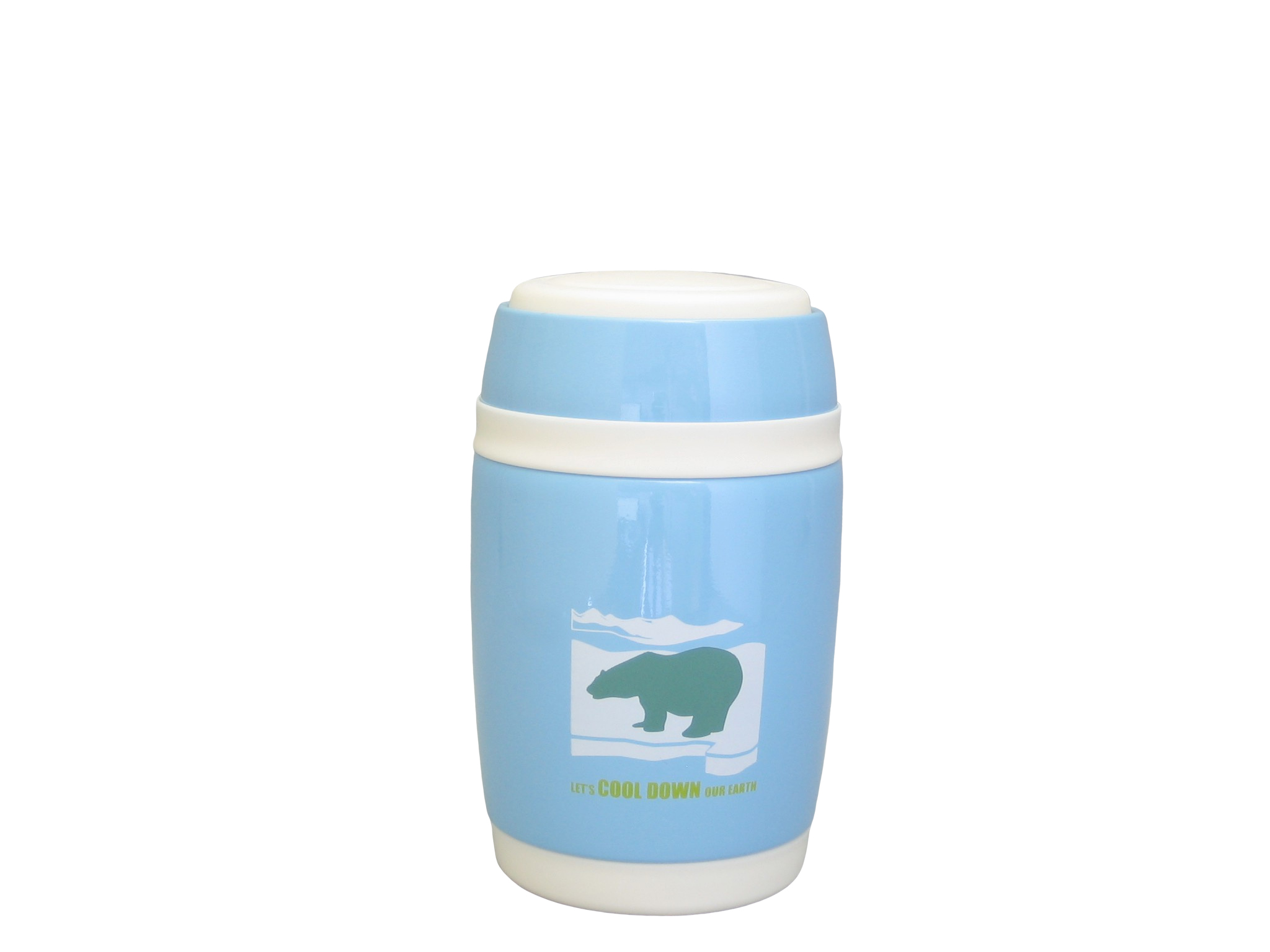 LUNCH05-012 - Food container SS unbreakable 0.5 L blue - KIDZ - Isobel