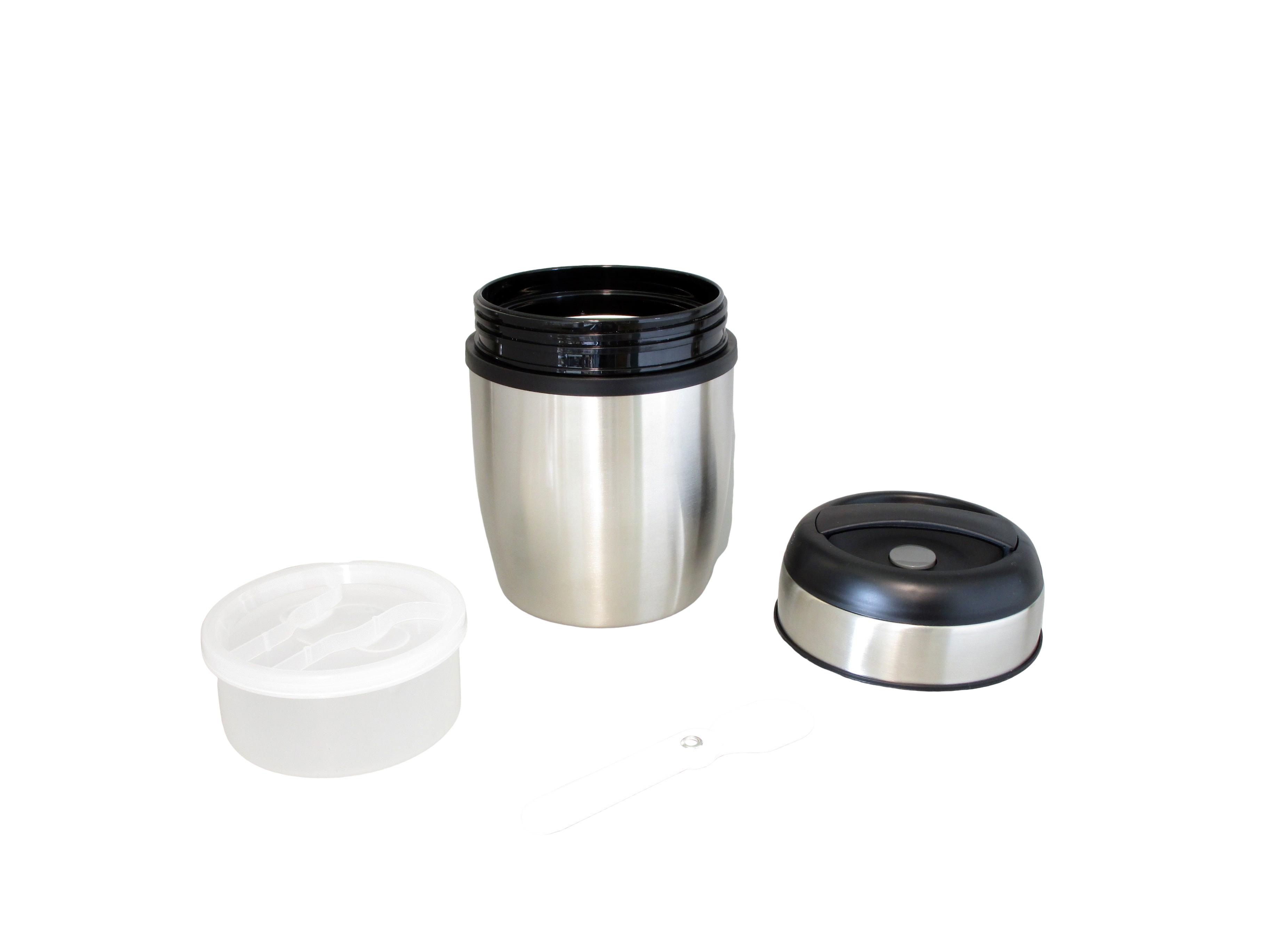 LUNCH10 - Voedselbewaarder onbreekbaar inox 1.0 L - Isobel