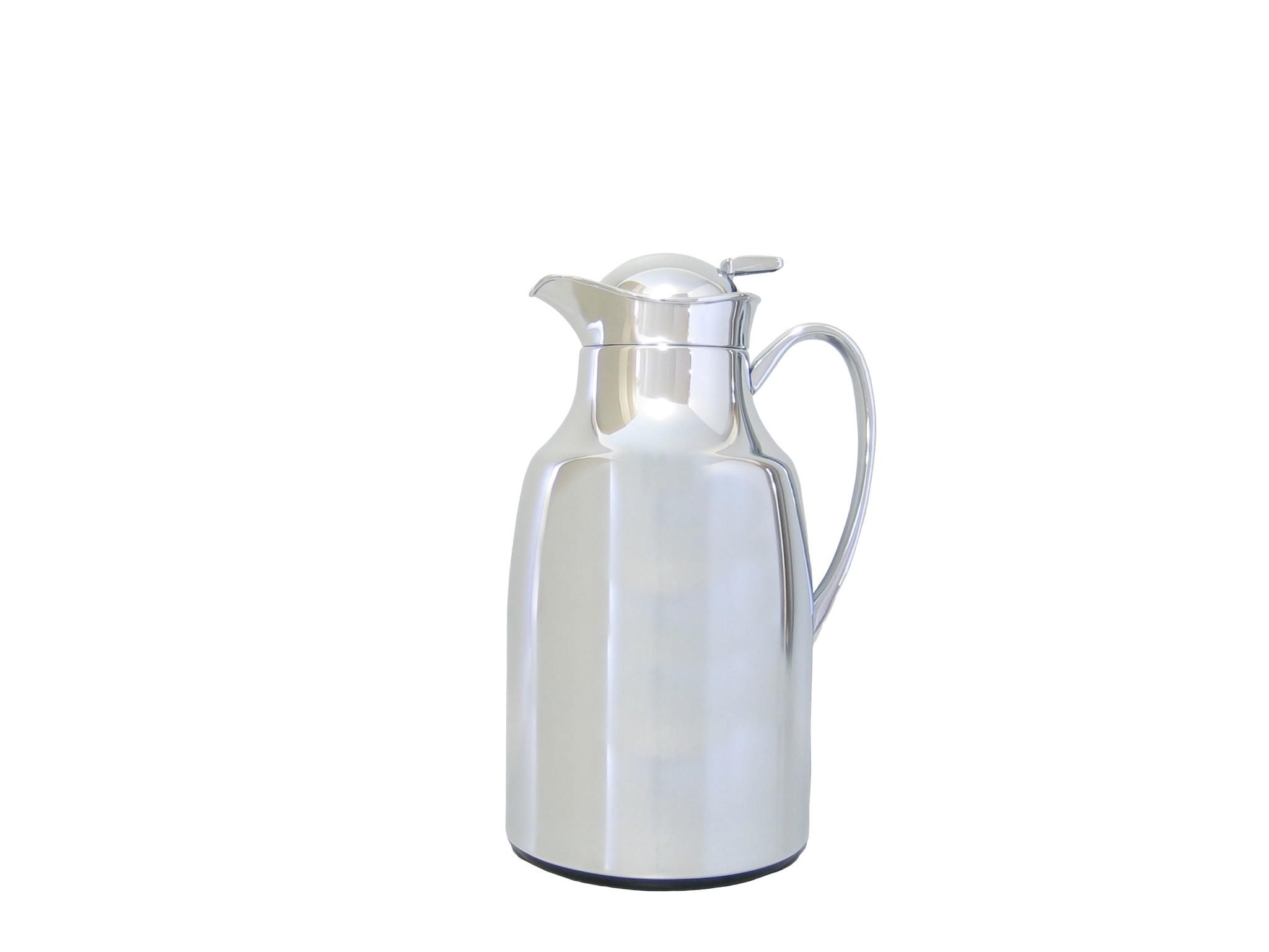 PRONTO13-904 - Vacuum carafe in chromed metal 1.3 L (ALLEGRA) - Isobel Classic