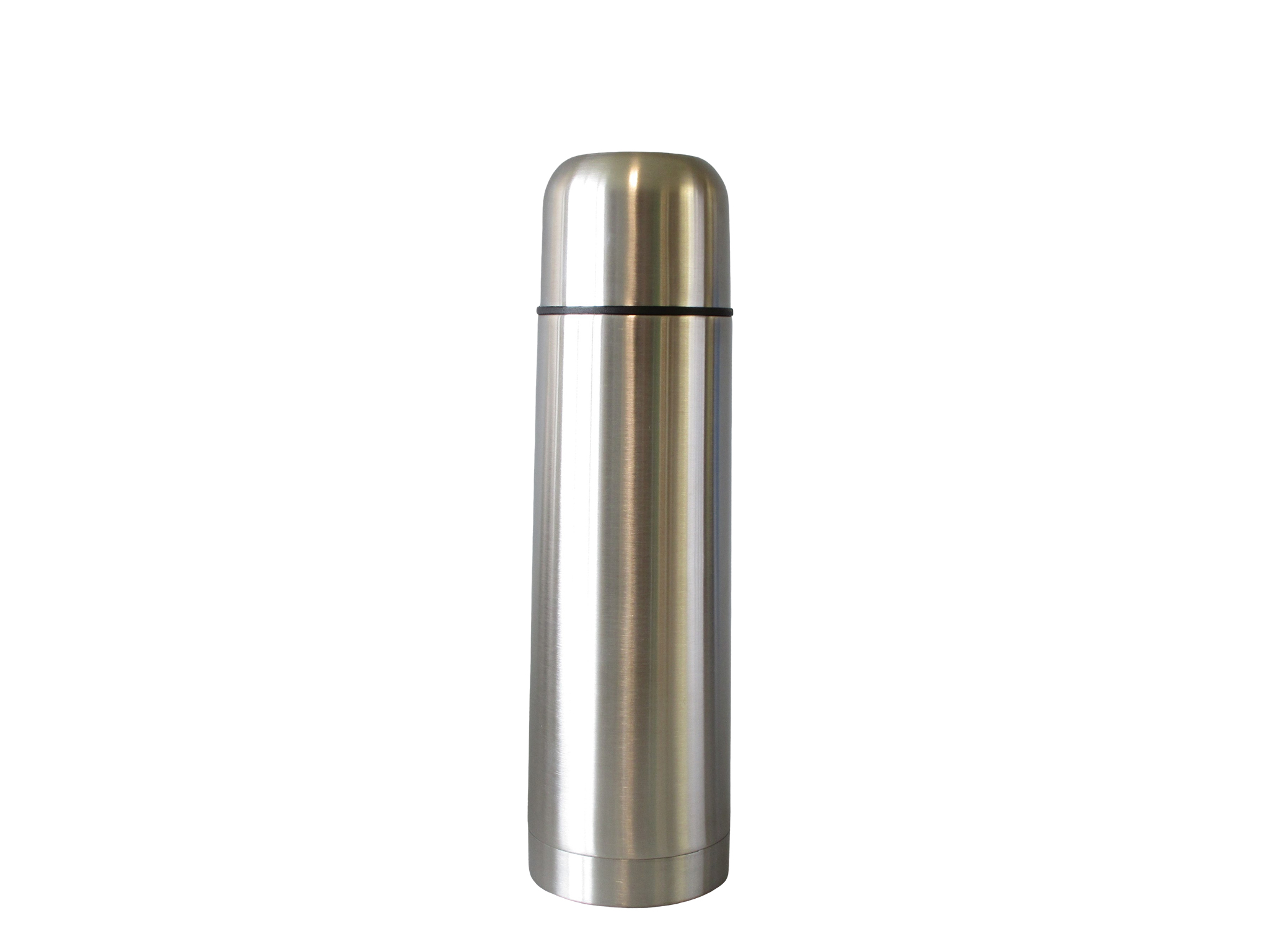TSS05LC-S02 - Vacuum flask SS unbreakable LOW COST 0.50 L (screw stopper) - Isobel Silver Line