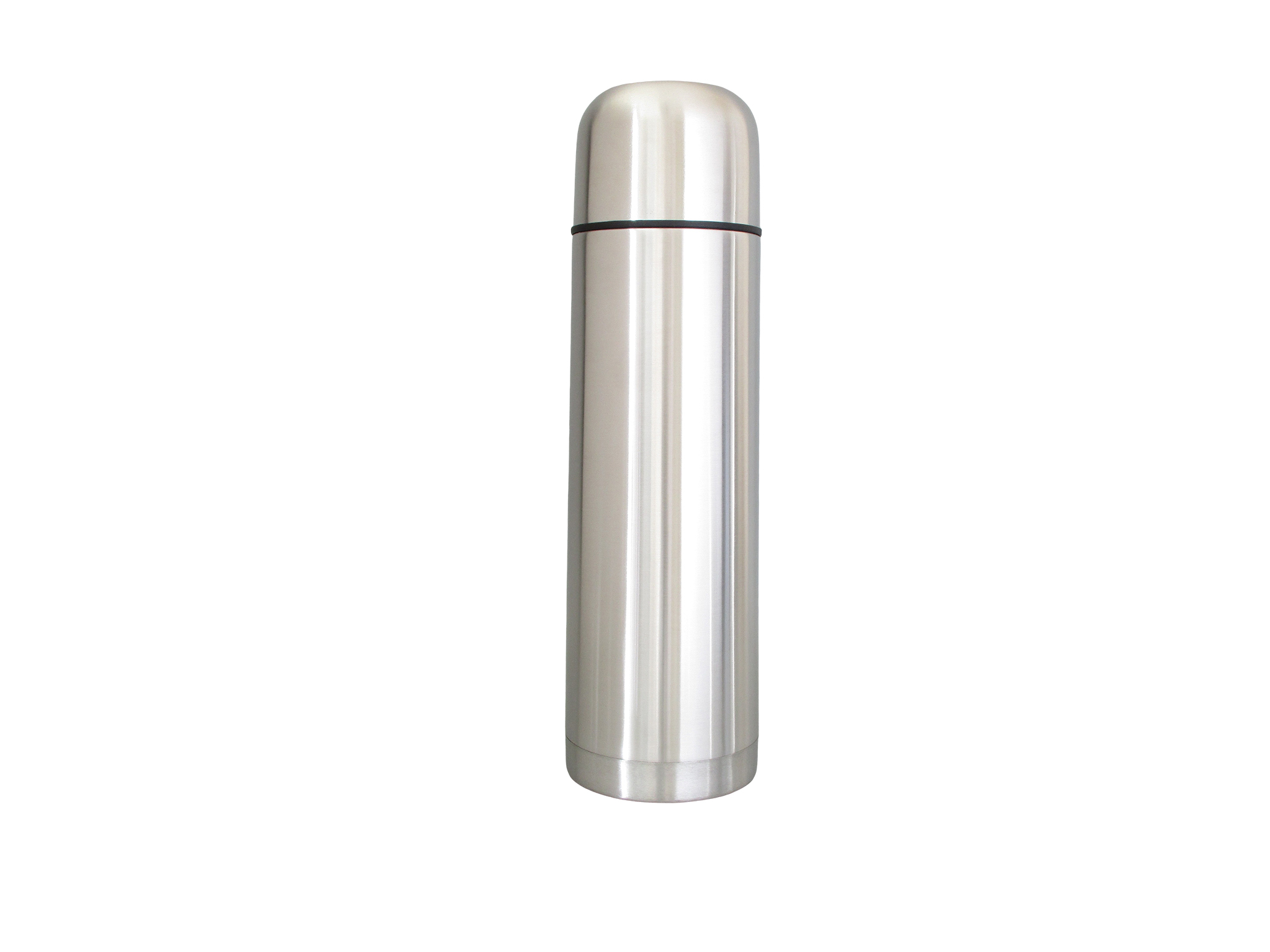 TSS10LC-S02 - Bouteille isoth. inox LOW COST 1.0 L (b. à visser) - Isobel Silver Line
