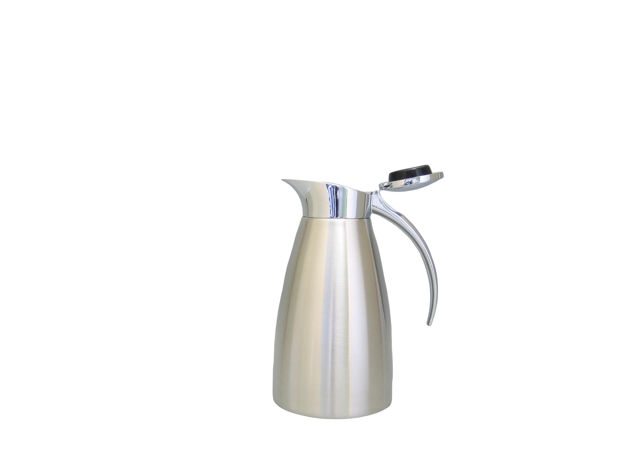 TUNDRA06-900 - Pichet isotherme inox incassable brossé 0.60 L - Isobel