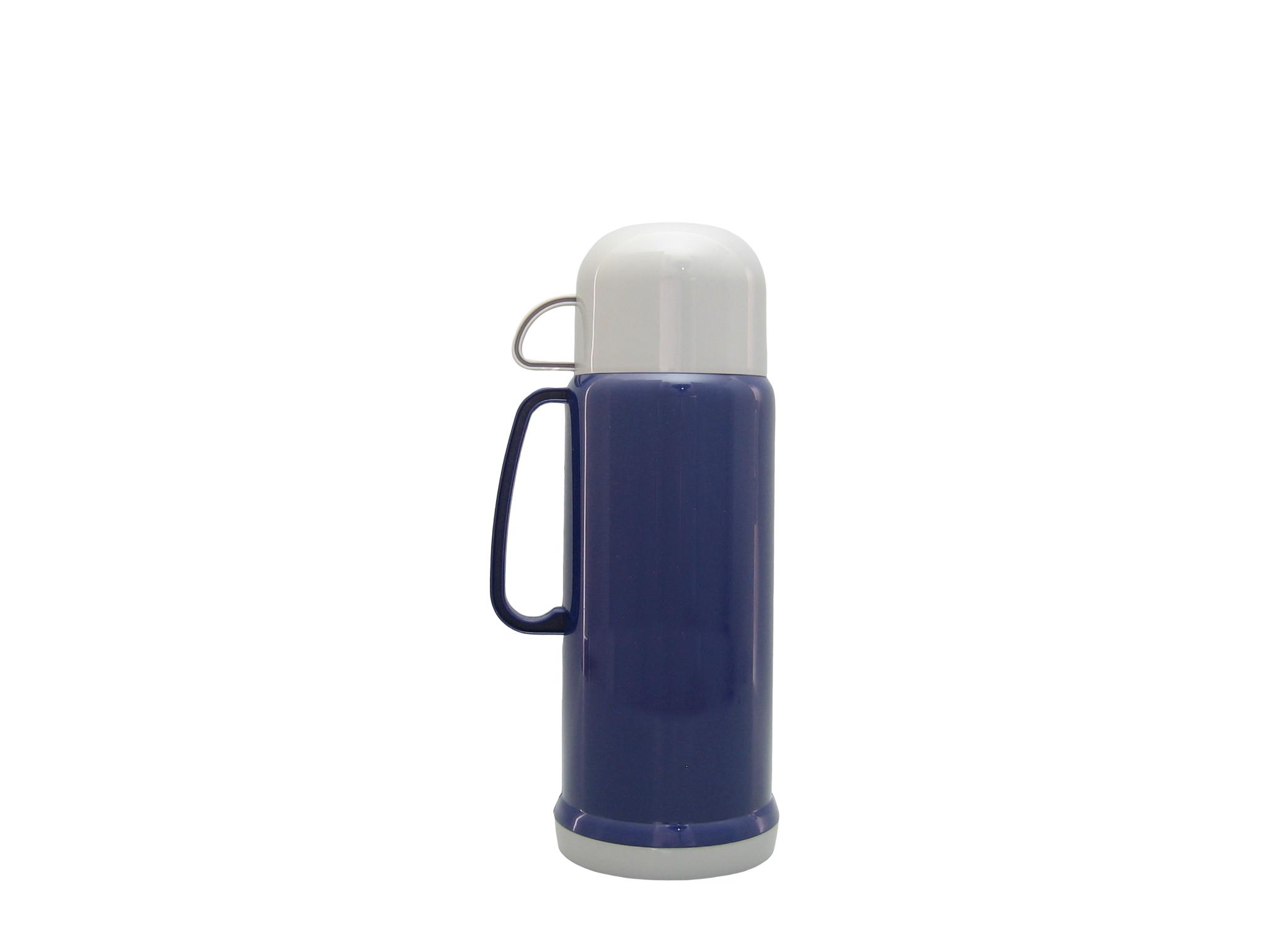 V080Y-008 - Vacuum flask 0.80 L blue - Isobel